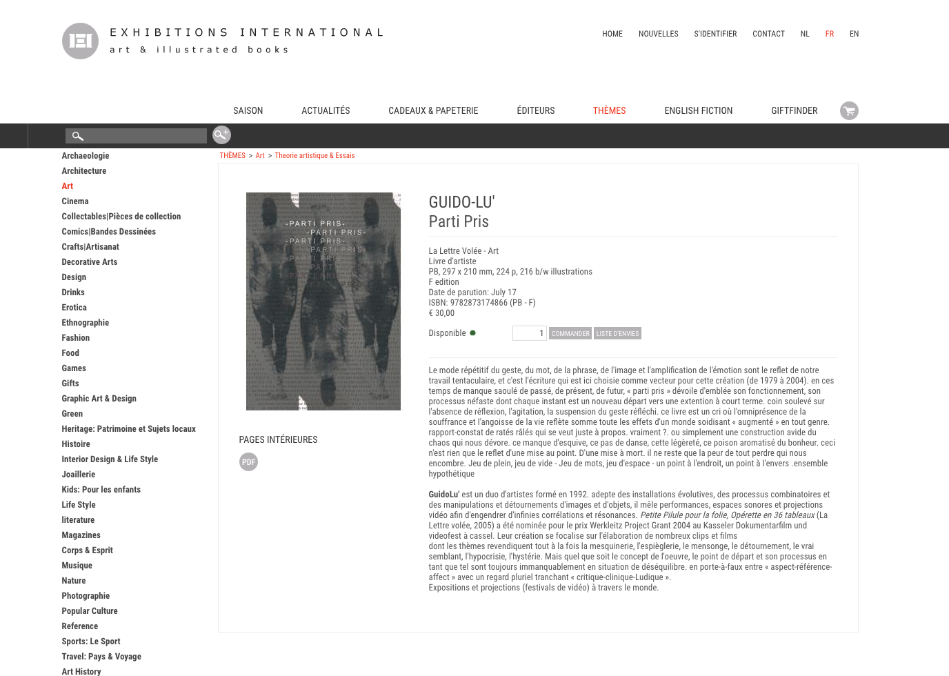 Exhibitions international