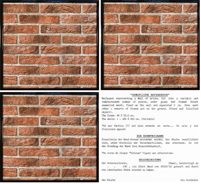 Install mur aplati